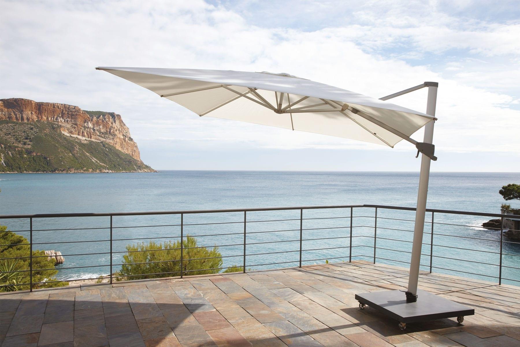aspen-umbrella Incroyable De Parasol Sur Pied Schème