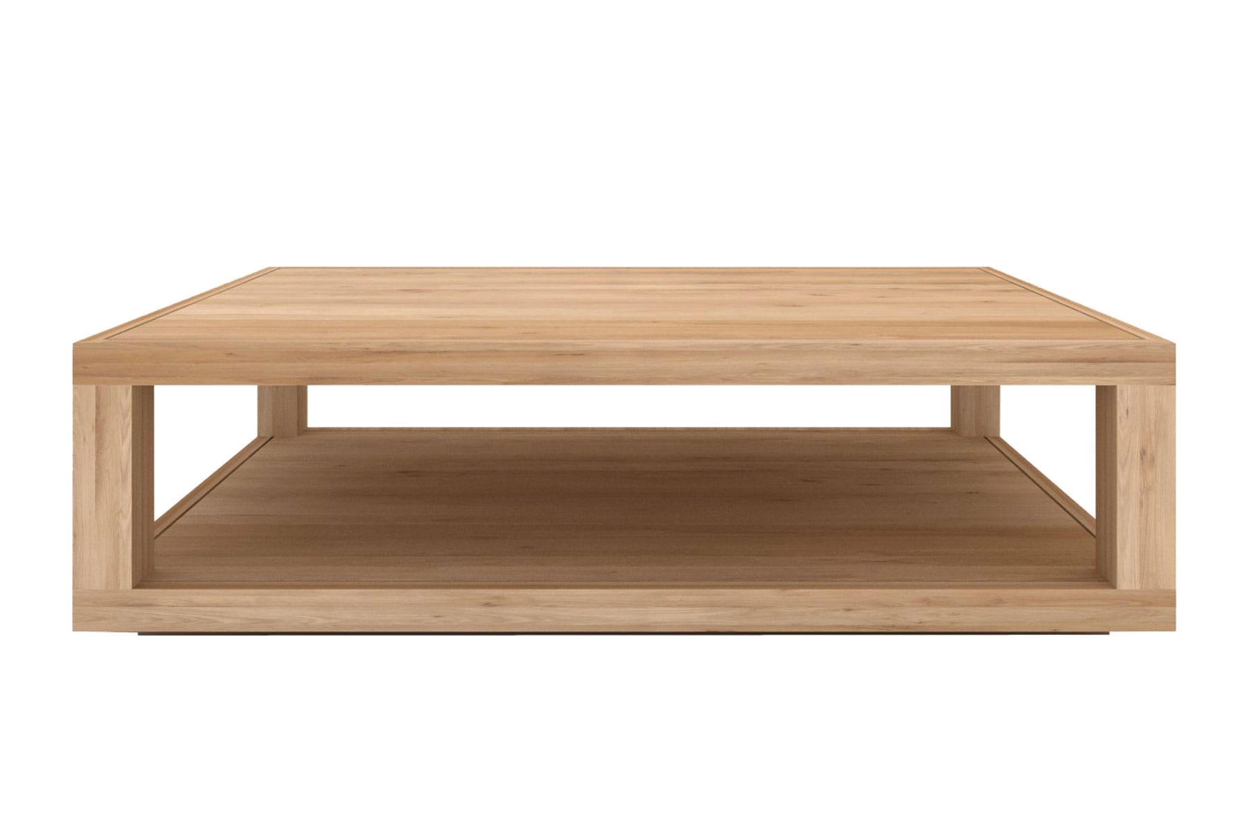 » Ethnicraft Duplex Coffee Table McKenzie & Willis -> Table Basse Bois Flotté Vitrée