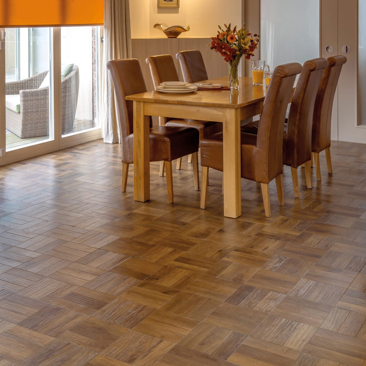 Dining Room Flooring: Karndean Art Select Parquet
