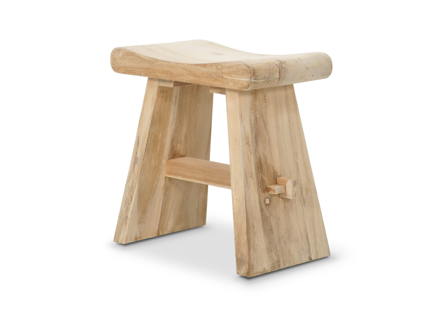 Wonderful image of Home › Furniture › Outdoor Furniture › Portico Diva Teak Stool with #7D5434 color and 1800x1350 pixels