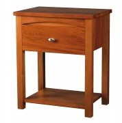 Turnwood Alexandra Bedside 1 Drawer