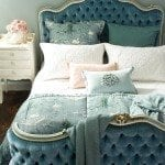 Odette bedspread with Cigna duck egg comforter HR1 150x150