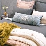 Valentina slate with Bloom nude comforter HR1 150x150