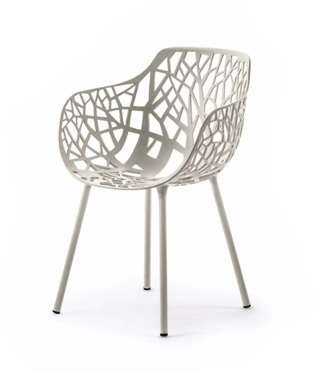 Fast Forest Armchair - White