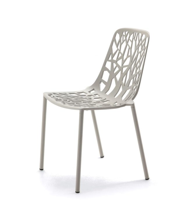 Fast Forest Dining Chair - White