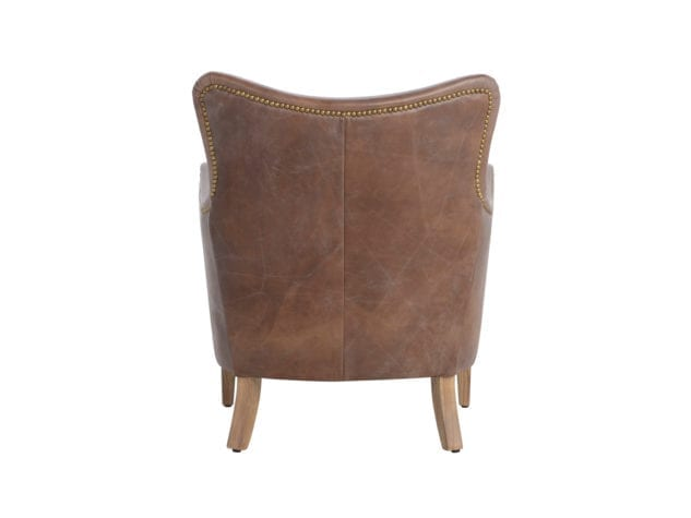 Halo Turnberry Armchair Leather available at McKenzie & Willis