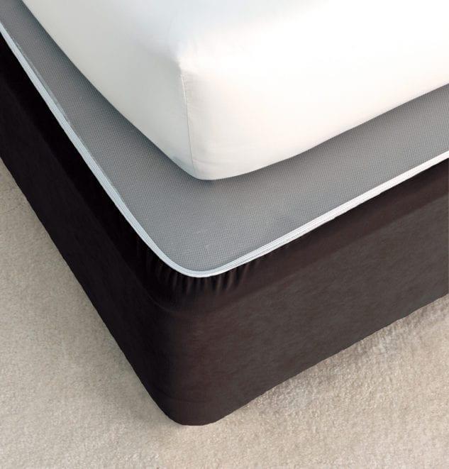 Savona Plain Bedwrap Black 633x661