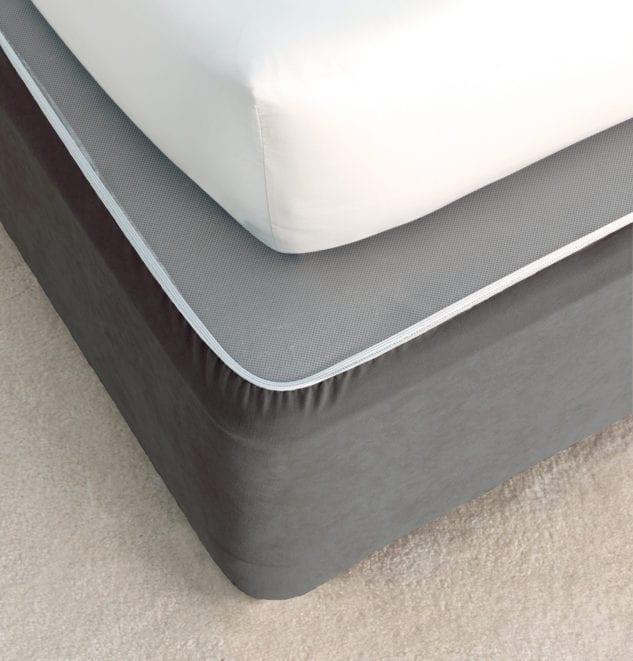 Savona Plain Bedwrap Castlerock 633x661