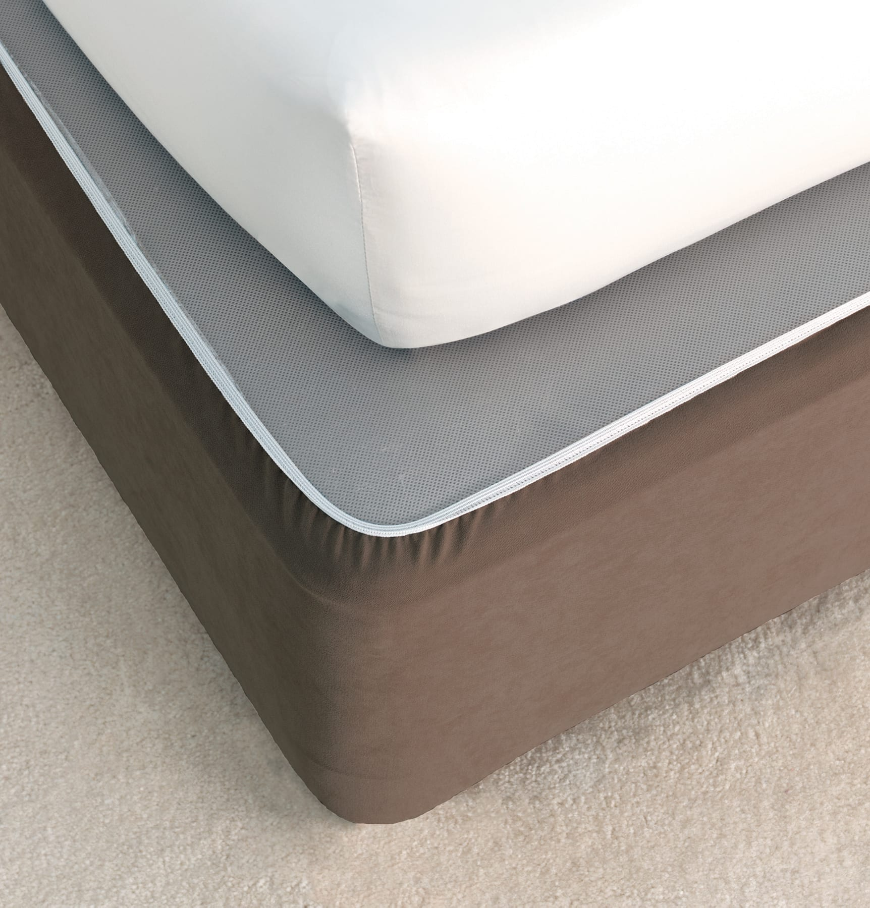 Savona Plain Bedwrap Chocolate