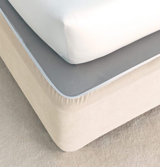 Savona Plain Bedwrap Cream 633x661