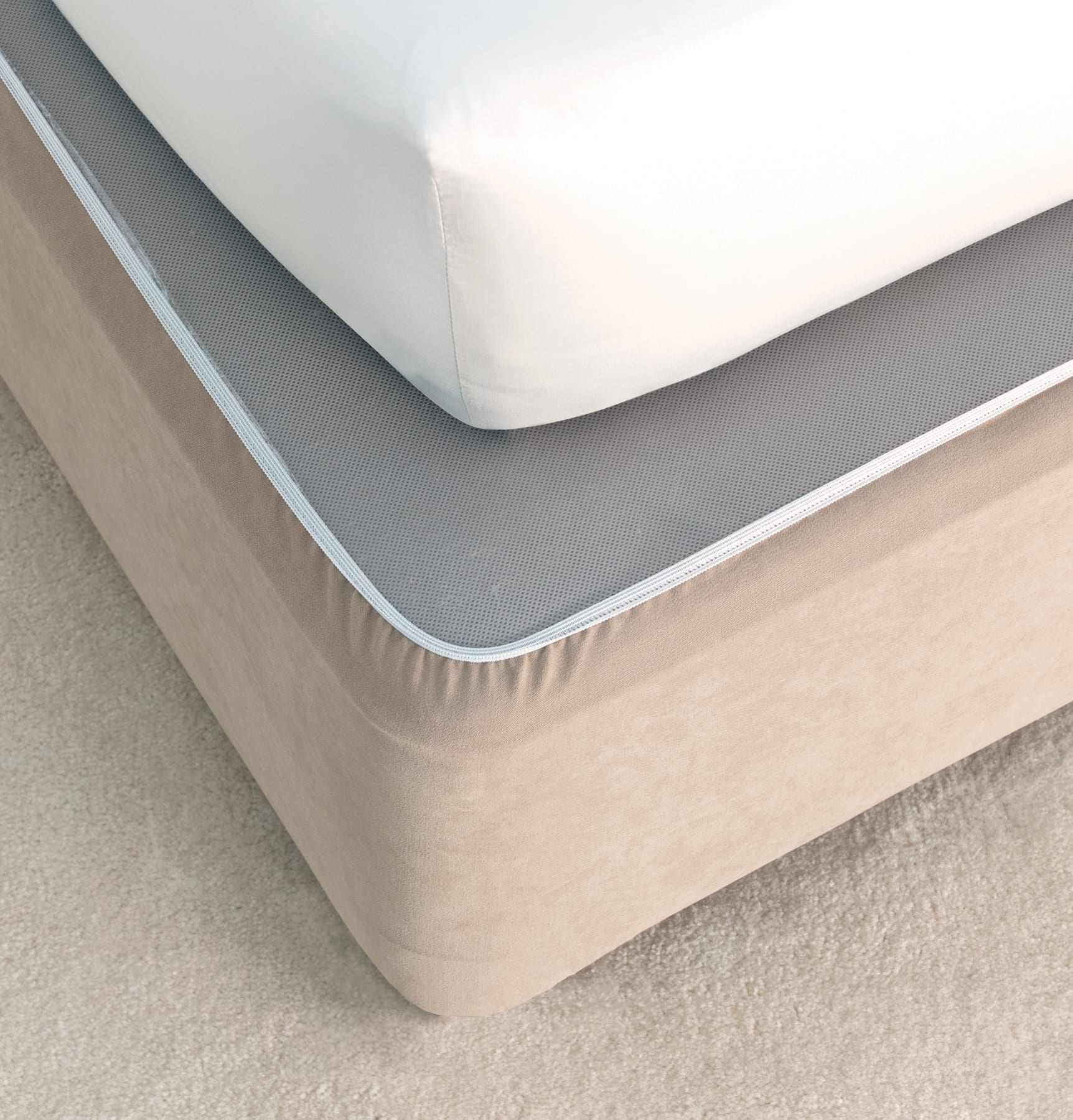 Savona Plain Bedwrap Linen