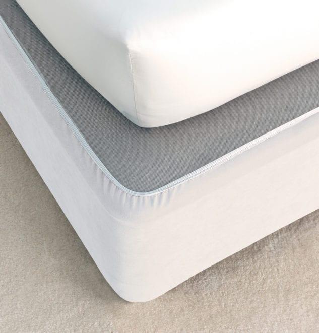 Savona Plain Bedwrap White 633x661