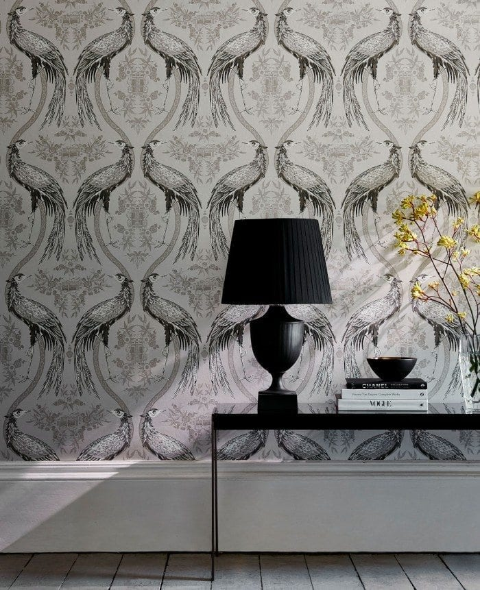 Fabled Crane Wallcovering 700x861