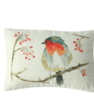 MM Linen Robin Cushion 316x377
