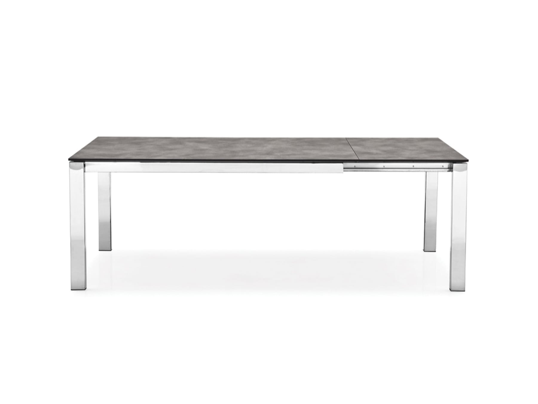Connubia Baron Extension Dining Table Acid Etched