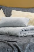 Bianca Lorenne Elba Sliver Comforter and Cushion