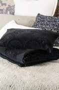 Bianca Lorenne Ereganto Black Comforter and Cushion