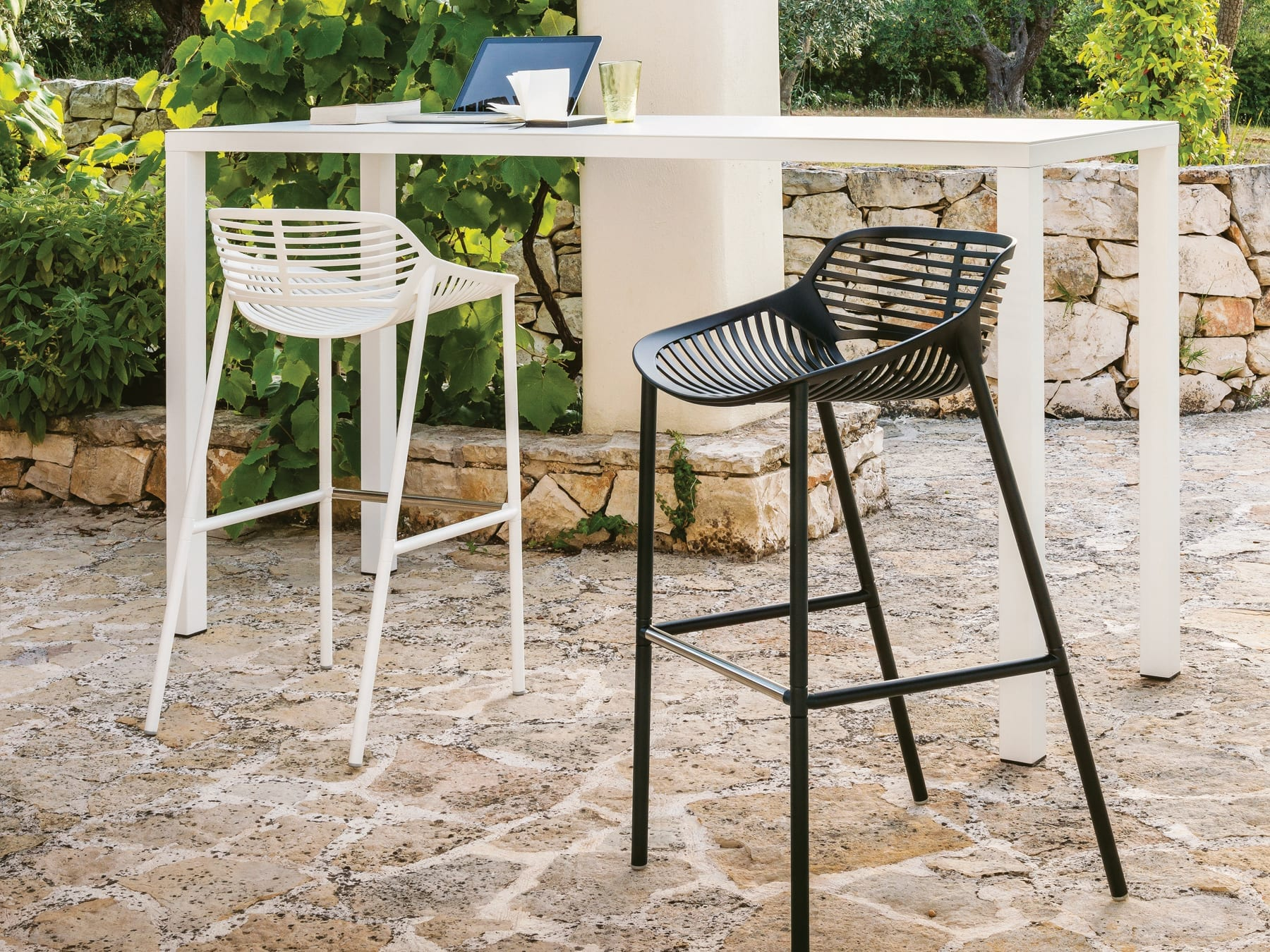 fast niwa barstool  mckenzie  willis -  fast easy bar table  niwa bar stools
