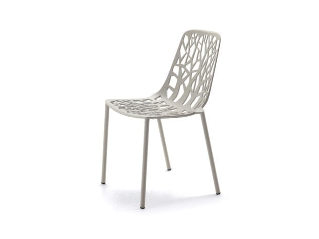 Fast Forest Dining Chair White