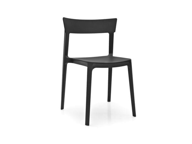 Calligaris Skin Outdoor Dining Chair – Black