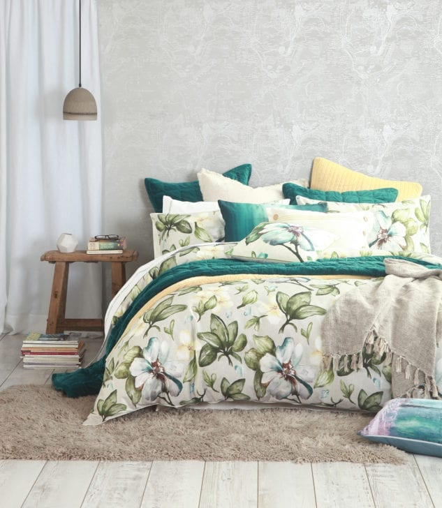 MM Linen Flora Duvet Set