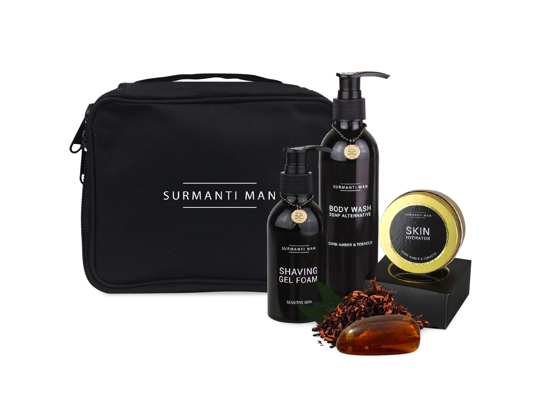 Surmanti mens gift set mckenzie willis for Mens bath set