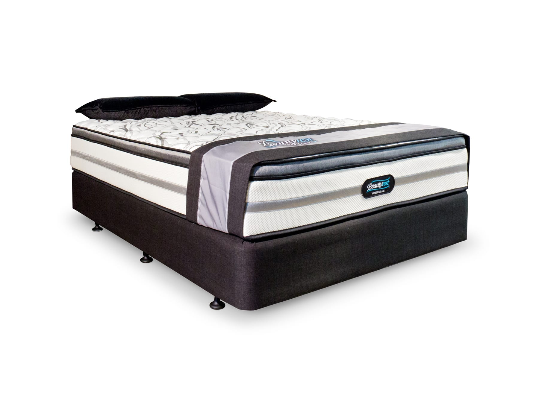 Beautyrest Puccini 1 Mattress & Base available at McKenzie & Willis