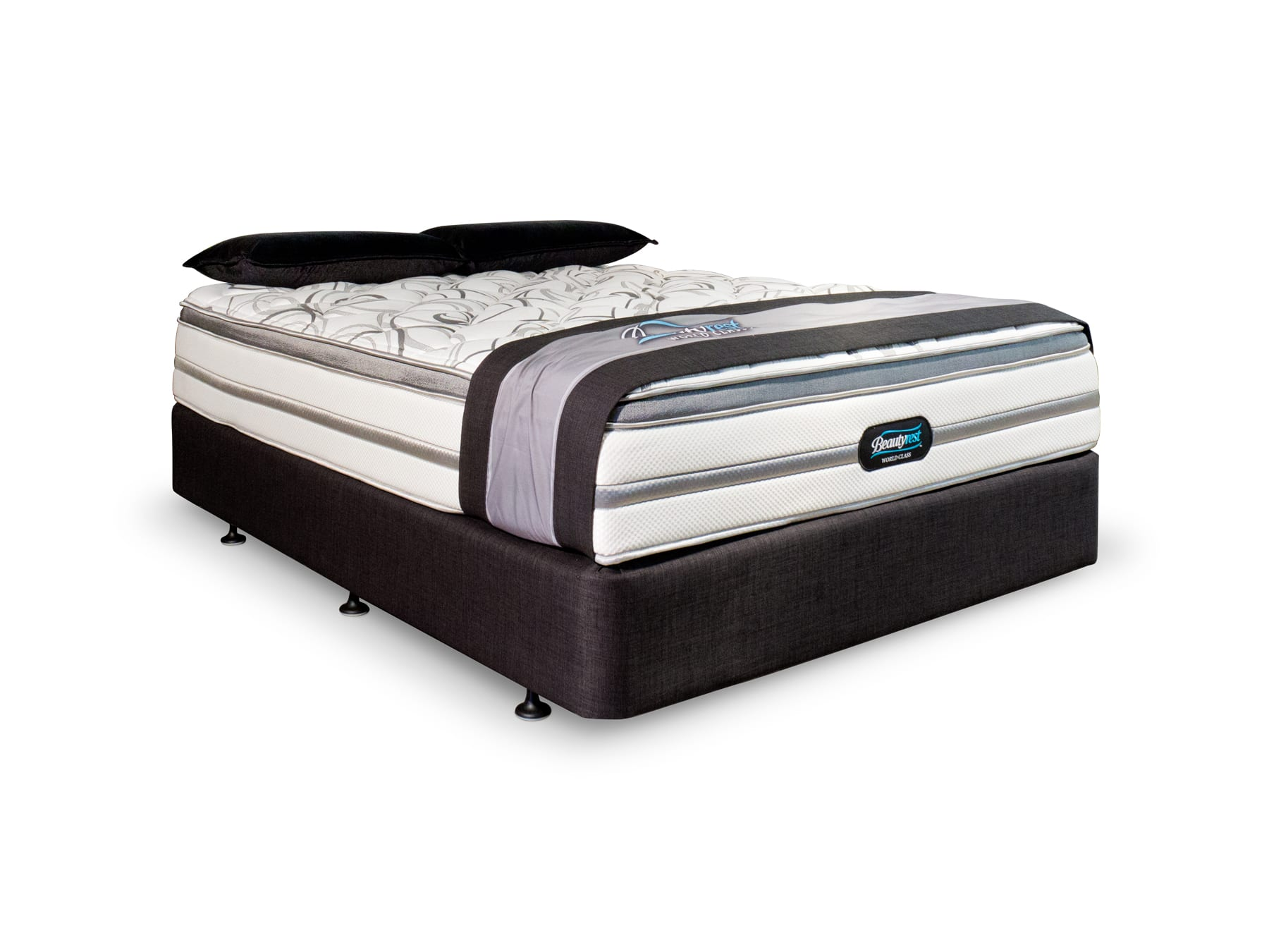 Beautyrest Puccini 2 Mattress & Base available at McKenzie & Willis