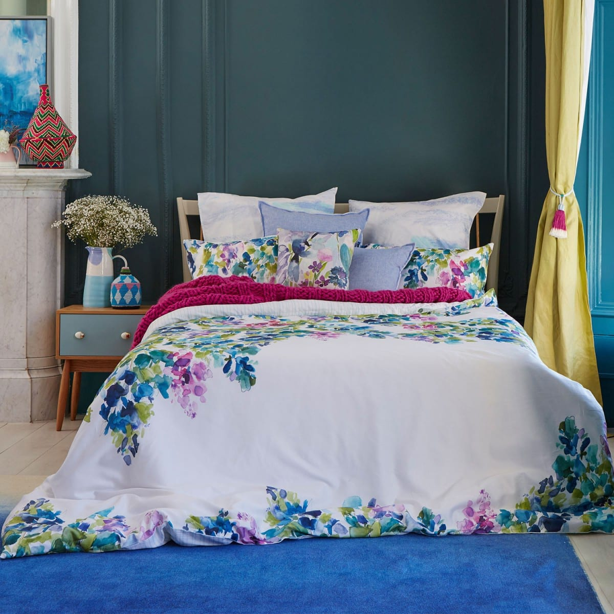 Mckenzie Bedroom Furniture Bluebellgray Catrin Duvet Cover Set Mckenzie Willis