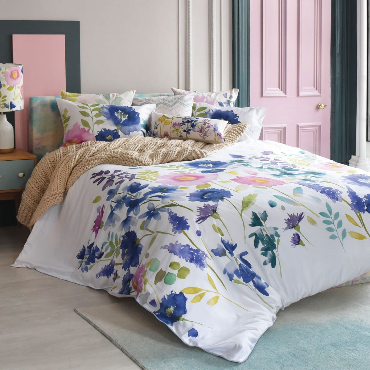 Bluebellgray Florrie Duvet Cover Set Mckenzie Amp Willis