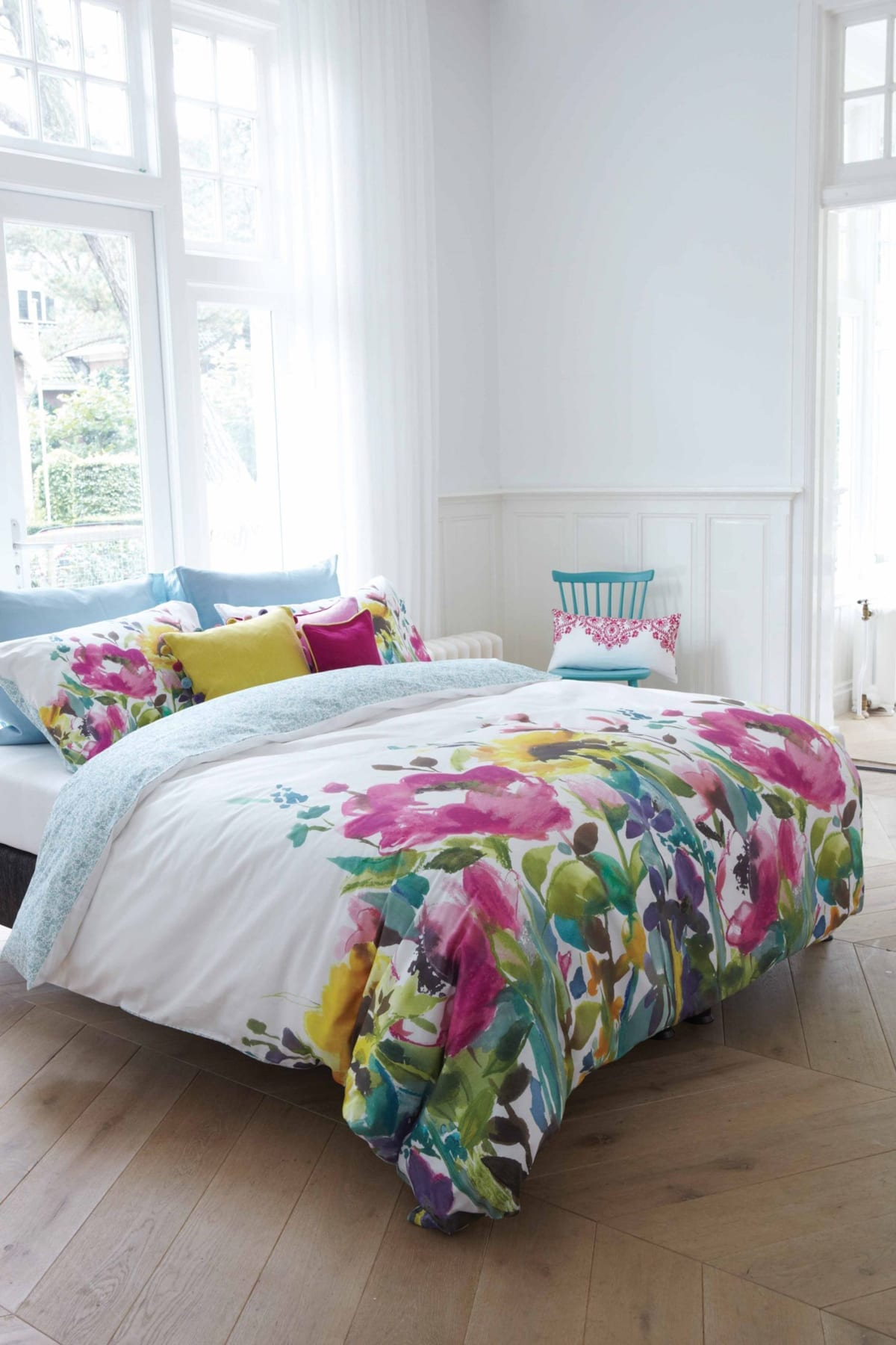 Bluebellgray Giverny Duvet Cover Set Mckenzie Amp Willis