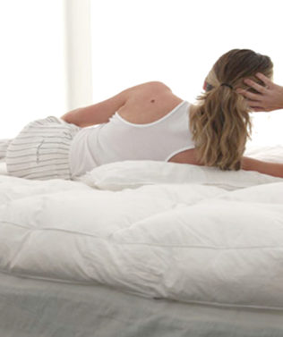 MM Down Luxury Mattress Topper available at McKenzie & Willis