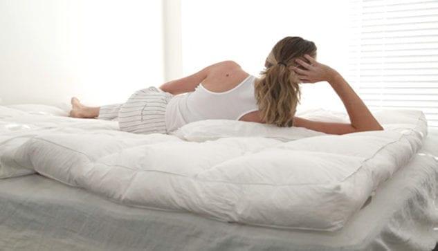 MM Down Luxury Mattress Topper available at McKenzie & Willis