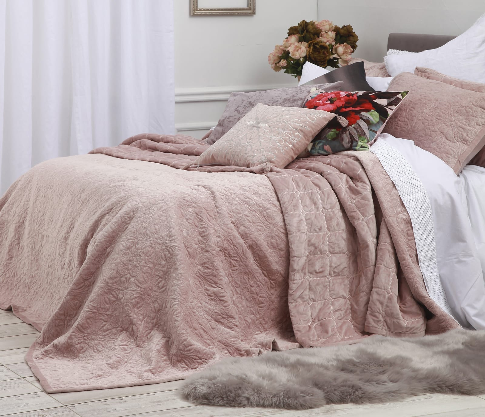 Mckenzie Bedroom Furniture Mm Linen Naja Bedspread Set Mckenzie Willis