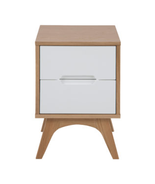 East West Designs Copenhagen 2 Drawer Bedside available at McKenzie & Willis