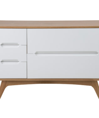 East West Designs Copenhagen 5 Drawer Dresser available from McKenzie & Willis