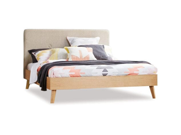 East West Designs Copenhagen Bed Frame with Headboard