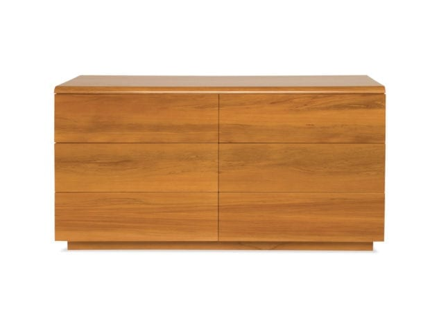 East West Designs Wynyard 6 Drawer Lowboy