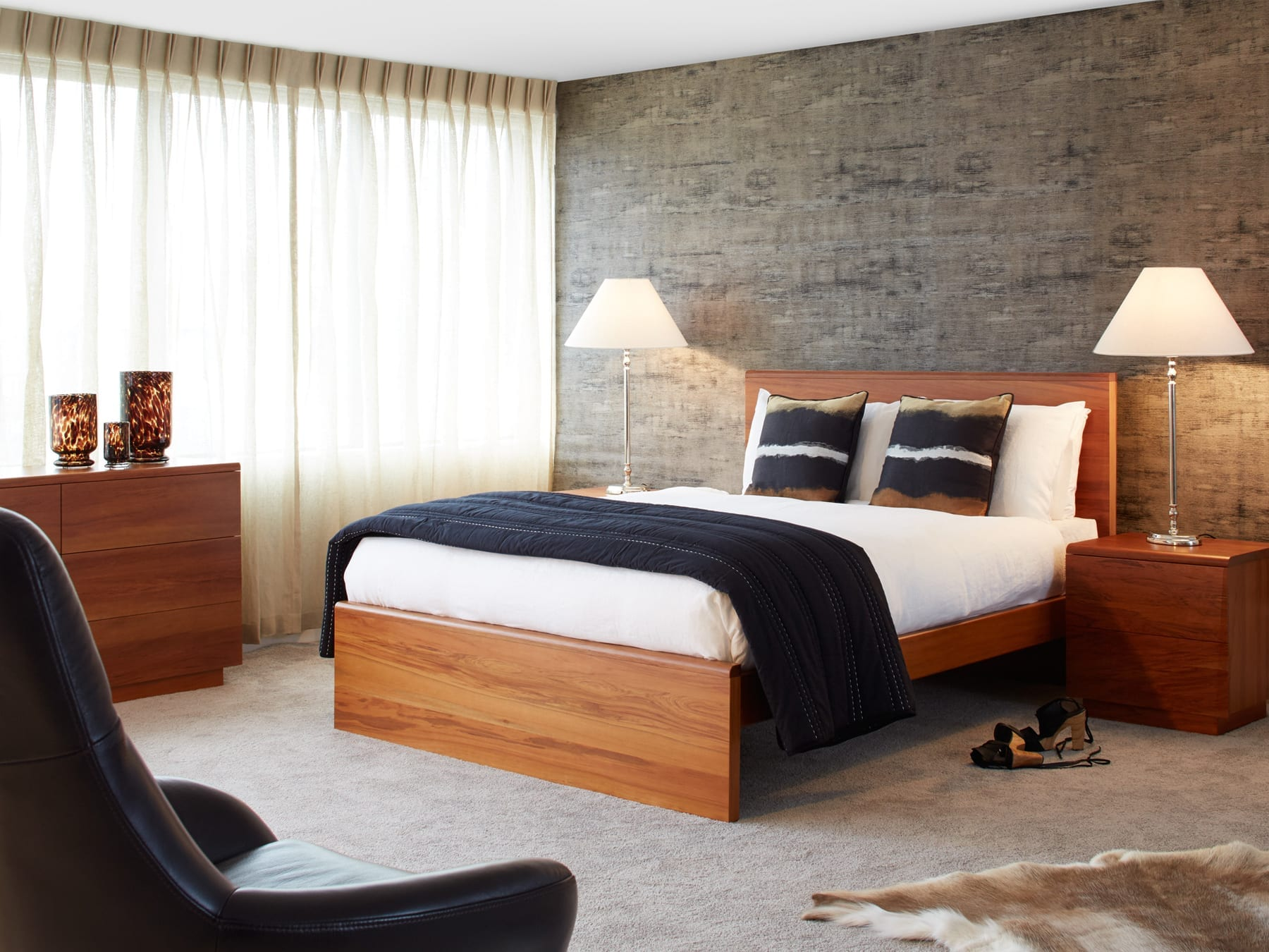 East West Designs Wynyard Collection Bedroom Furniture available at McKenzie & Willis