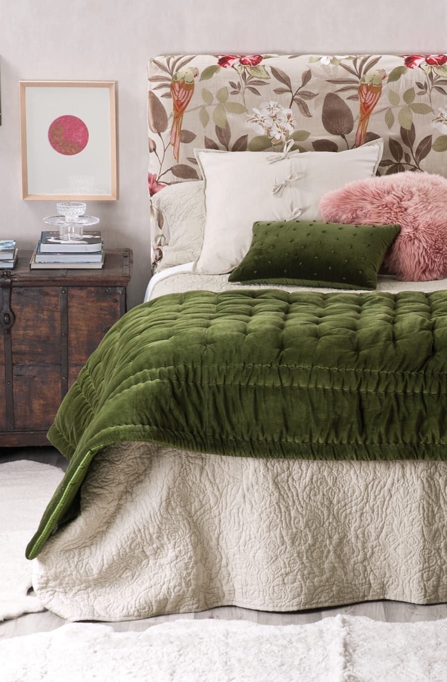 Bianca Lorenne Abbellire Bedspread available at McKenzie & Willis
