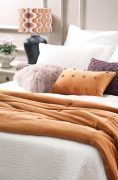 Bianca Lorenne Arancia Comforter available at McKenzie & Willis