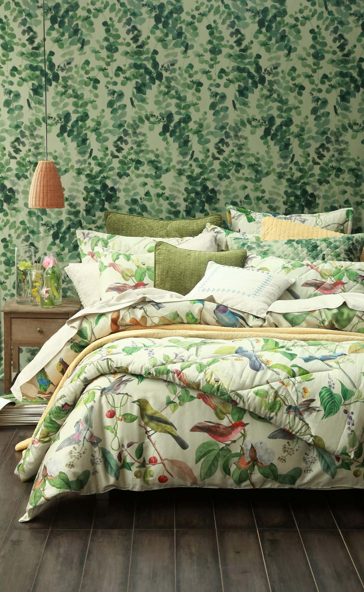 MM Linen Aviary Duvet available at McKenzie & Willis