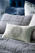 Bianca Lorenne Mara Mist Cushion available at McKenzie & Willis