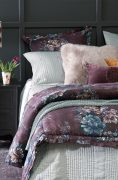 Bianca Lorenne Vernice Aubergine Comforter available at McKenzie & Willis