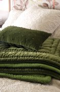 Bianca Lorenne Mica Green Comforter available at McKenzie & Willis
