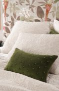 Bianca Lorenne Mica green Cushion avialable at McKenzie & Willis
