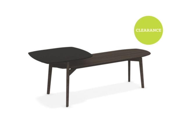 Calligaris Match Coffee Tables in Smoke/Mud