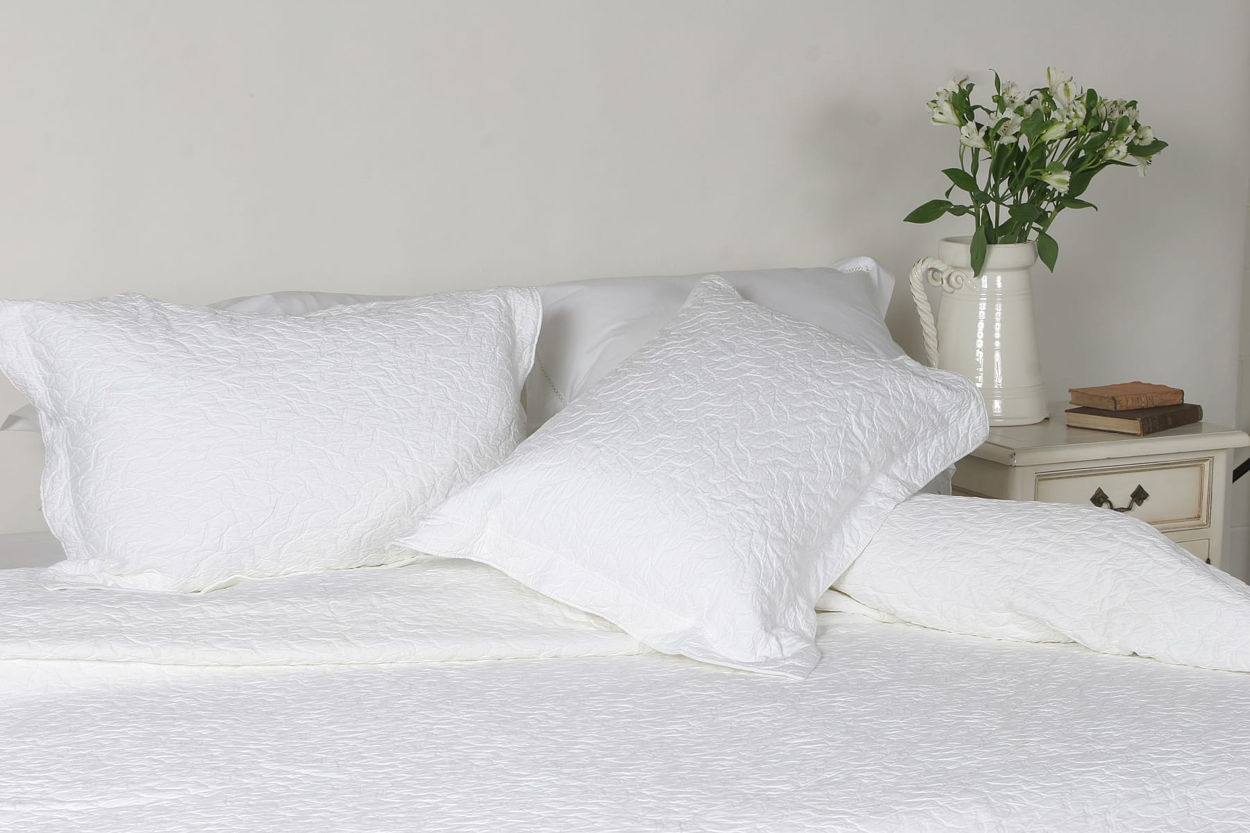 Importico Enrugada Bedspread available at McKenzie & Willis