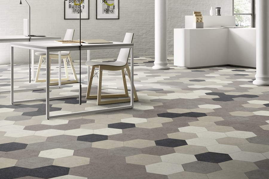 Moduleo Moods Luxury Vinyl Tiles available at McKenzie & Willis