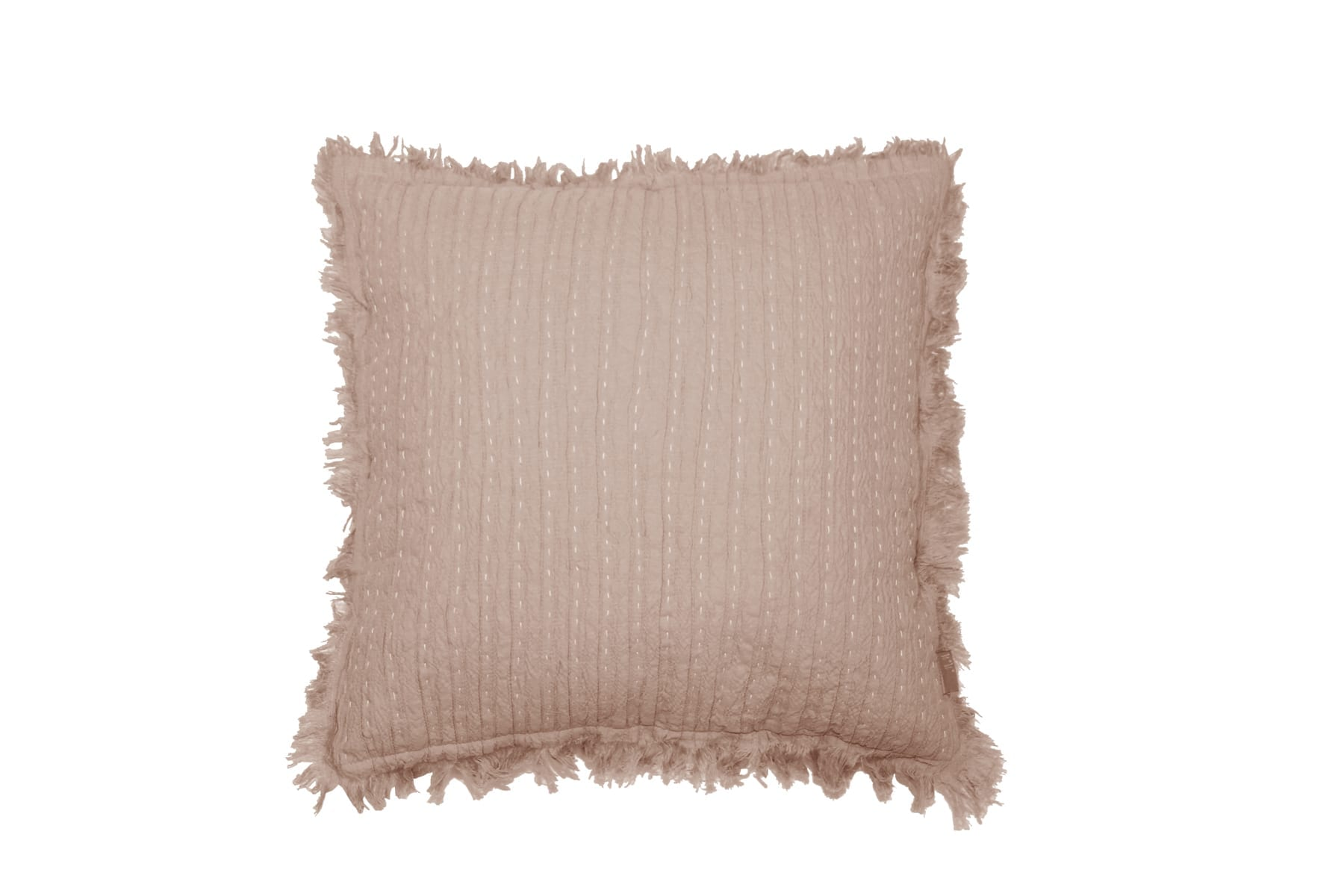 MM Linen Tali Cushion in Blush available at McKenzie & Willis